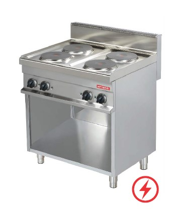 ARISCO 4 PLATE STOVE ELECTRIC WITH NEUTRAL CABINET