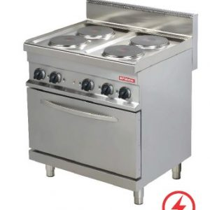 ARISCO 4 PLATE STOVE WITH OVEN ELECTRIC