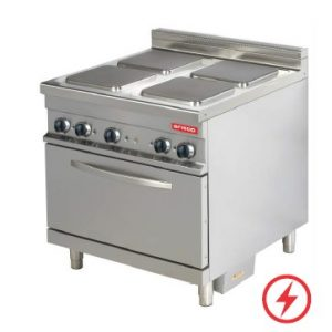 ARISCO ELECTRIC COOKING RANGE WITH OVEN