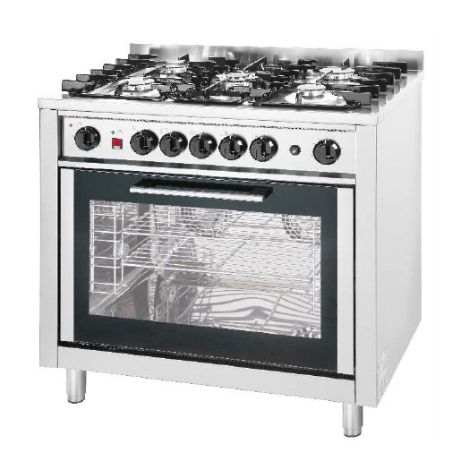EKA GAS COOKING RANGE WITH CONVECTION OVEN