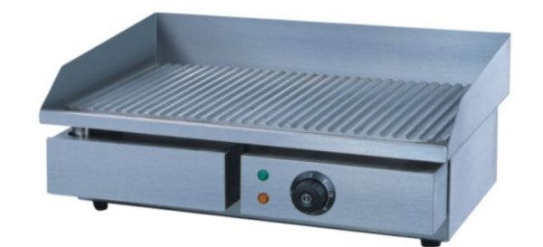 FULL RIBBED 550 FLAT TOP GRIDDLE ELECTRIC